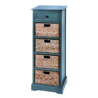 WD 4 Basket Cabinet 45-inch Light Blue