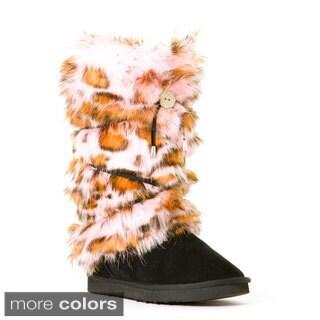 Hugrz Pink Panther Pattern Boot Wraps