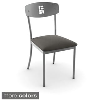 Amisco Domino Metal Chairs (Set of 2)