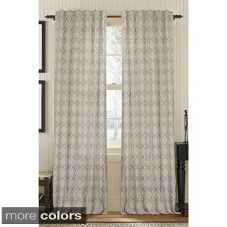 Exotic Embroidered Curtain Panel