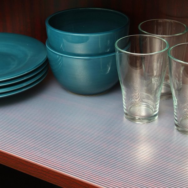 Kitchen Shelf Liner Reviews: Con-Tact Clear Premium Ribbed Non-adhesive Non-slip Shelf