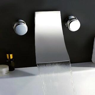 KOKOLS Chrome Wall-mount Waterfall Tub Faucet