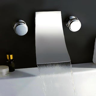 kokols chrome wallmount waterfall tub faucet