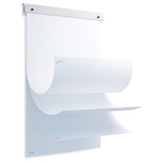 RD-6430R Metal White Flip Chart Pad Holder