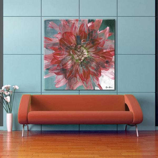 Ready2HangArt 'Painted Petals XXXI' Canvas Wall Art