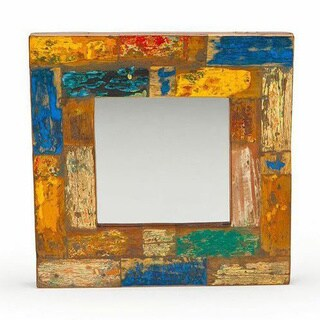 Wish Craft Reclaimed Wood Mirror