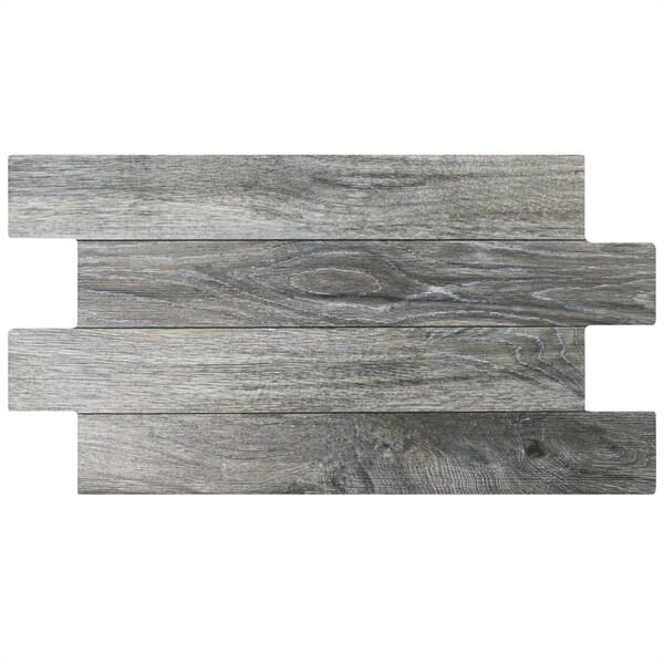 SomerTile 12.25x23.625-inch Moscu Cendre Porcelain Floor Tile (Case of 8)