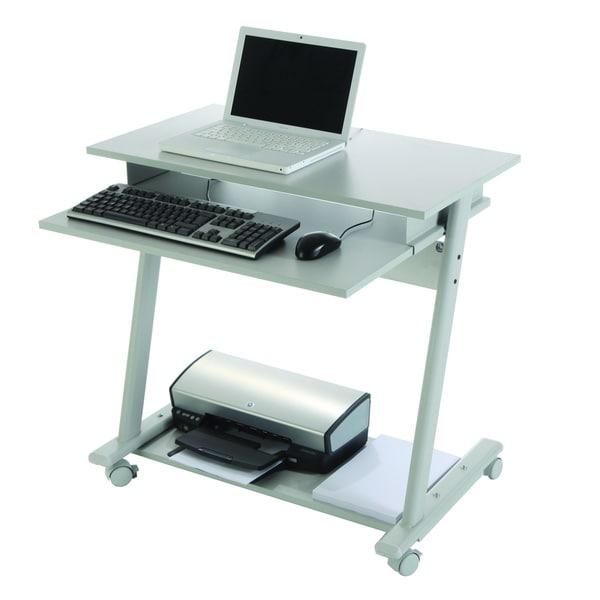Rocada rd 9100 metal grey computer table free shipping Small steel desk