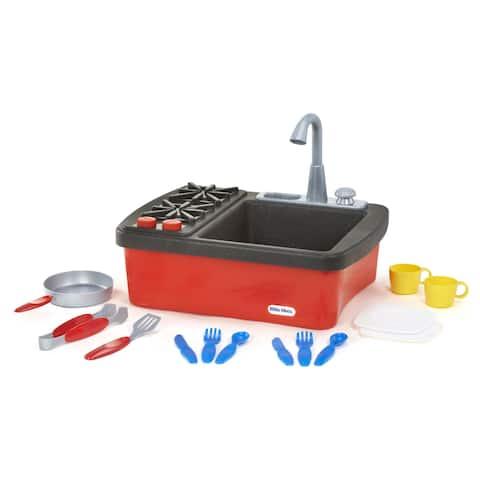 Little Tikes Splish Splash Sink and Stove - Red