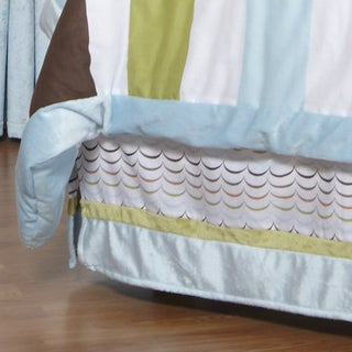 One Grace Place Puppy Pal Boy's Full Bedskirt