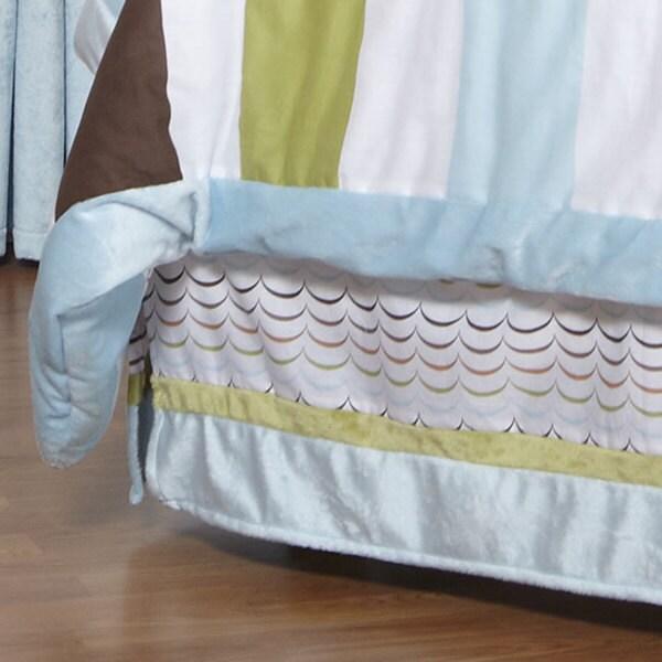 One Grace Place Puppy Pal Boy's Twin Bedskirt