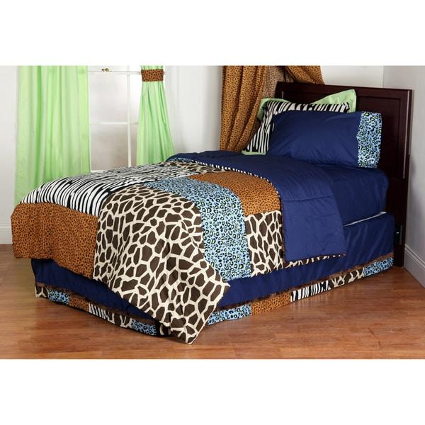 One Grace Place Jazzie Jungle Boy's Cotton Comforter