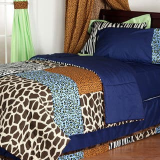 One Grace Place Jazzie Jungle Boy's Cotton Comforter|https://ak1.ostkcdn.com/images/products/9724313/P16898326.jpg?impolicy=medium