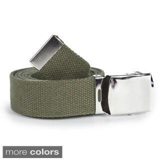 Unisex Solid Canvas Web Belt|https://ak1.ostkcdn.com/images/products/9724345/P16898355.jpg?_ostk_perf_=percv&impolicy=medium