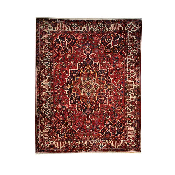 Vintage Persian Bokhara Wool Area Rug 10 X 13: Shop Hand-knotted Semi Antique Persian Bakhtiari Wool Rug
