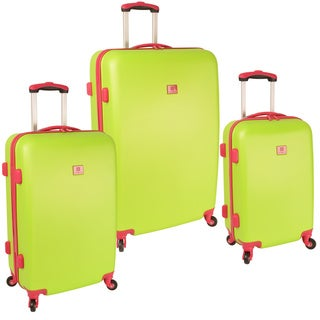 Anne Klein Palm Springs 3-piece Hardside Spinner Luggage Set