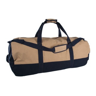 StanSport Two-tone Canvas Duffle Bag