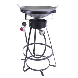 StanSport 54000 BTU Outdoor Cooker with Wok