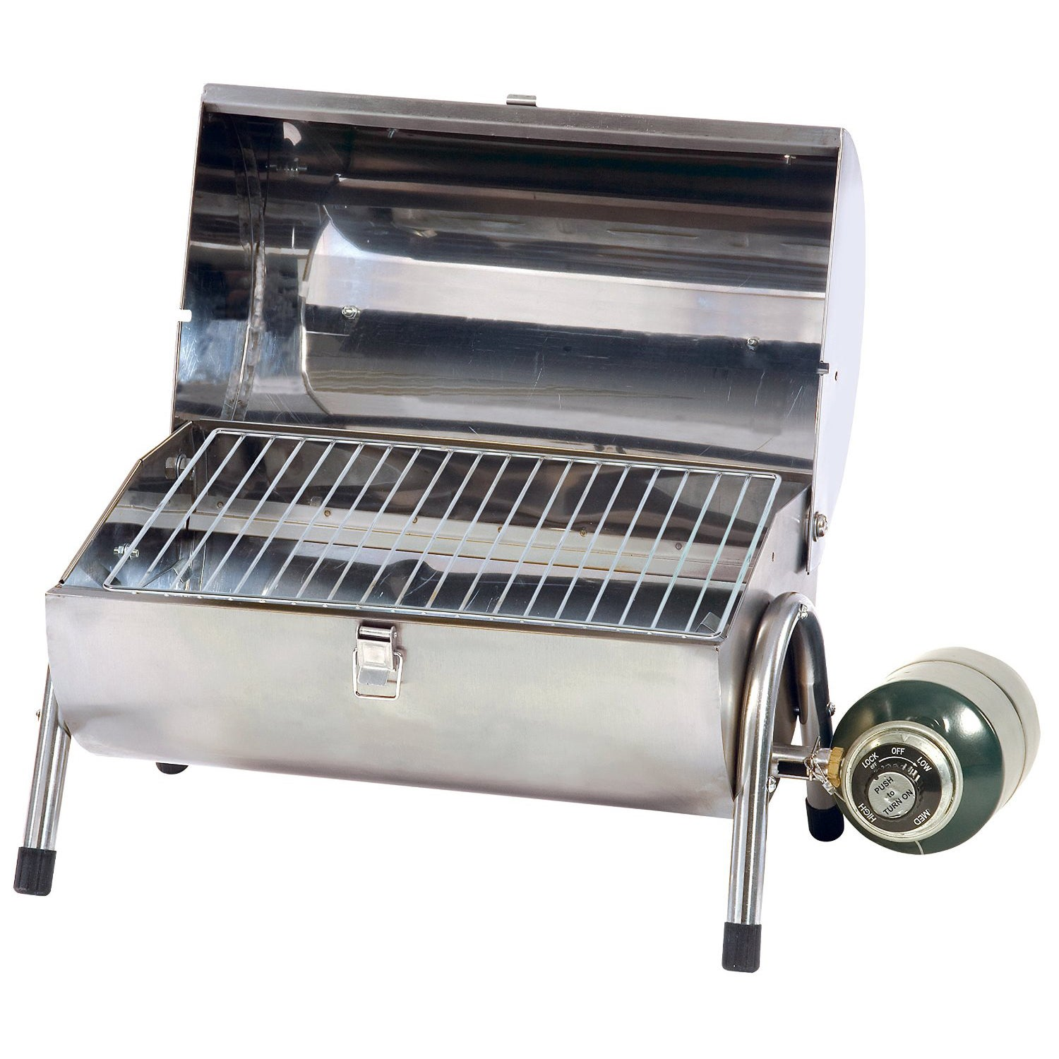 Stansport 10,000 BTU Stainless Steel Portable Gas Grill, .