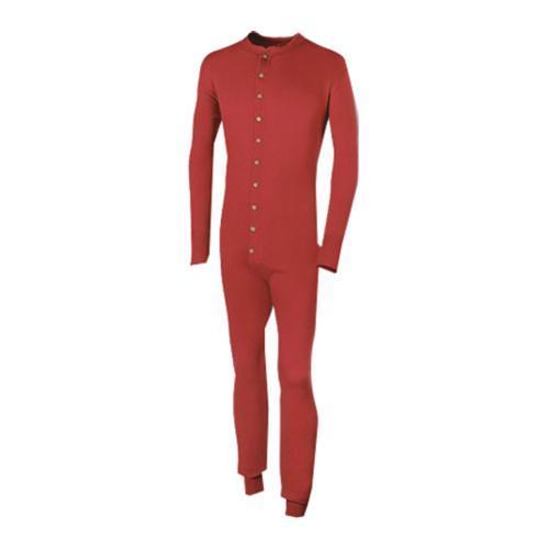 Men's Duofold Originals Mid Weight Union Suit Kmmu Red (U...