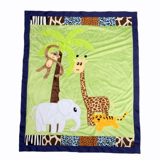 Jazzie Jungle Boy Quilt-Applique