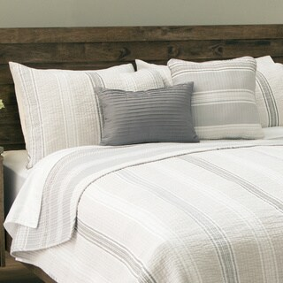 Carbon Loft Savery Stripe 5-piece Cotton Quilt Set (2 options available)