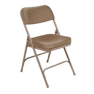 NPS 3200 Vinyl Upholstered Box Seat Folding Chairs Pack of 2 (2 options available)