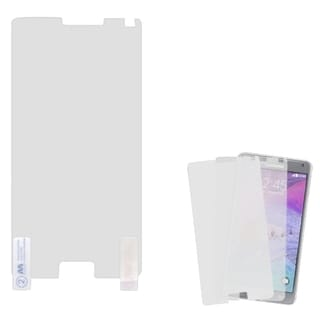 INSTEN Clear Screen Protector Twin Pack For Samsung Galaxy Note 4 (Pack of 2)