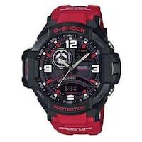 Casio Men's G-Shock GA1000-4B Aviation Watch (Red/Black)