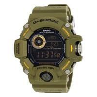 Casio G-Shock Rangeman Men's Master of G Series Stylish Watch (Green/One Size)
