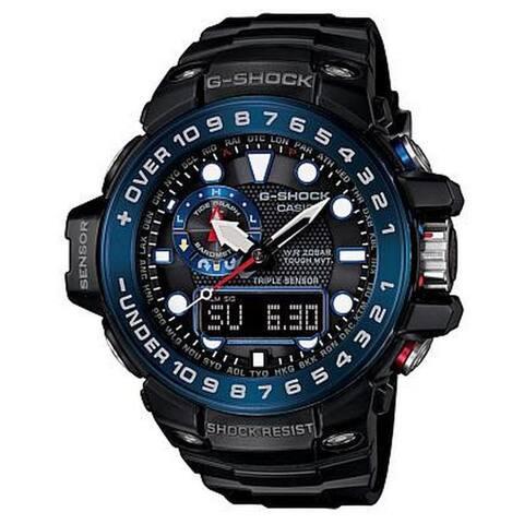 Casio G-Shock GWN1000B-1B Men's Analog-Digital Black Resin Watch