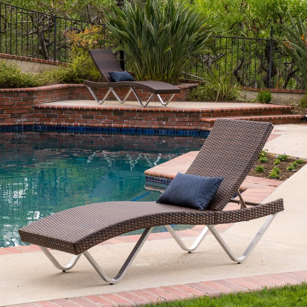 walmart outdoor wicker chaise lounge knight home set with arms cushions