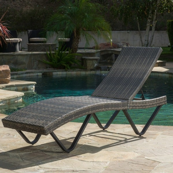 knight home outdoor wicker chaise lounge cushions aloha with arms
