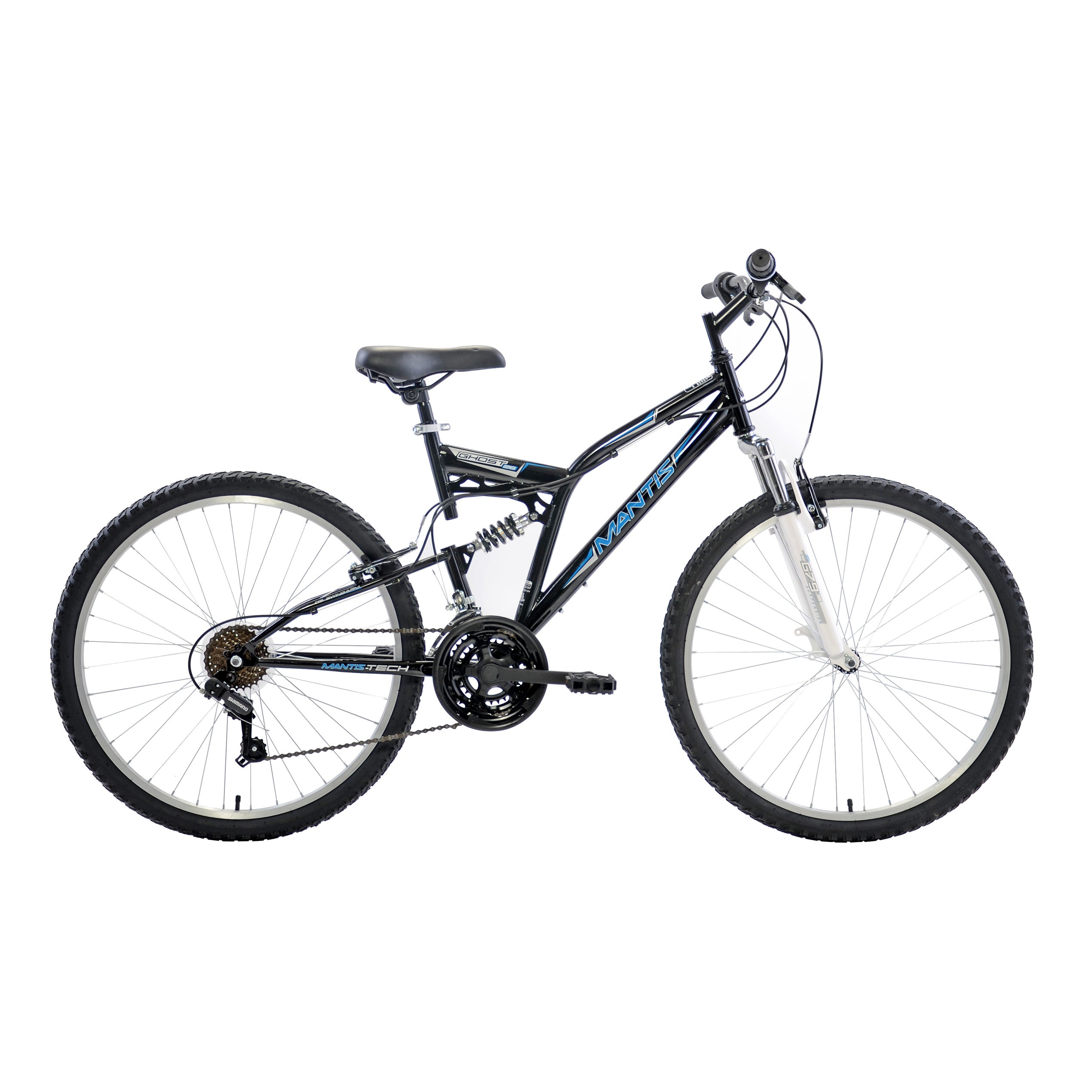 Mantis Ghost 26-inch Full Suspension Bicycle (26 inch), S...