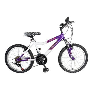 Piranha 20-inch Sporty Girl 21 Speed Kids Bicycle