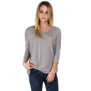 Lyss Loo Striped Dolman with Pocket (More options available)
