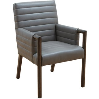 Sunpan '5West' Fitzgerald Leather Dining Chair