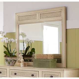 Haven Aged Ivory Mirror