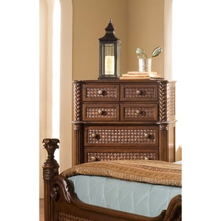 Palm Court II Coco Brown 7-drawer Chest