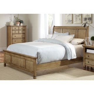 Kingston Isle Sand Sleigh Bed