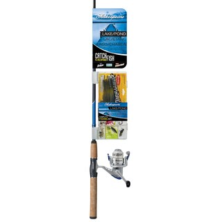 Shakespeare LakePond 30RL 6-foot Medium Combo