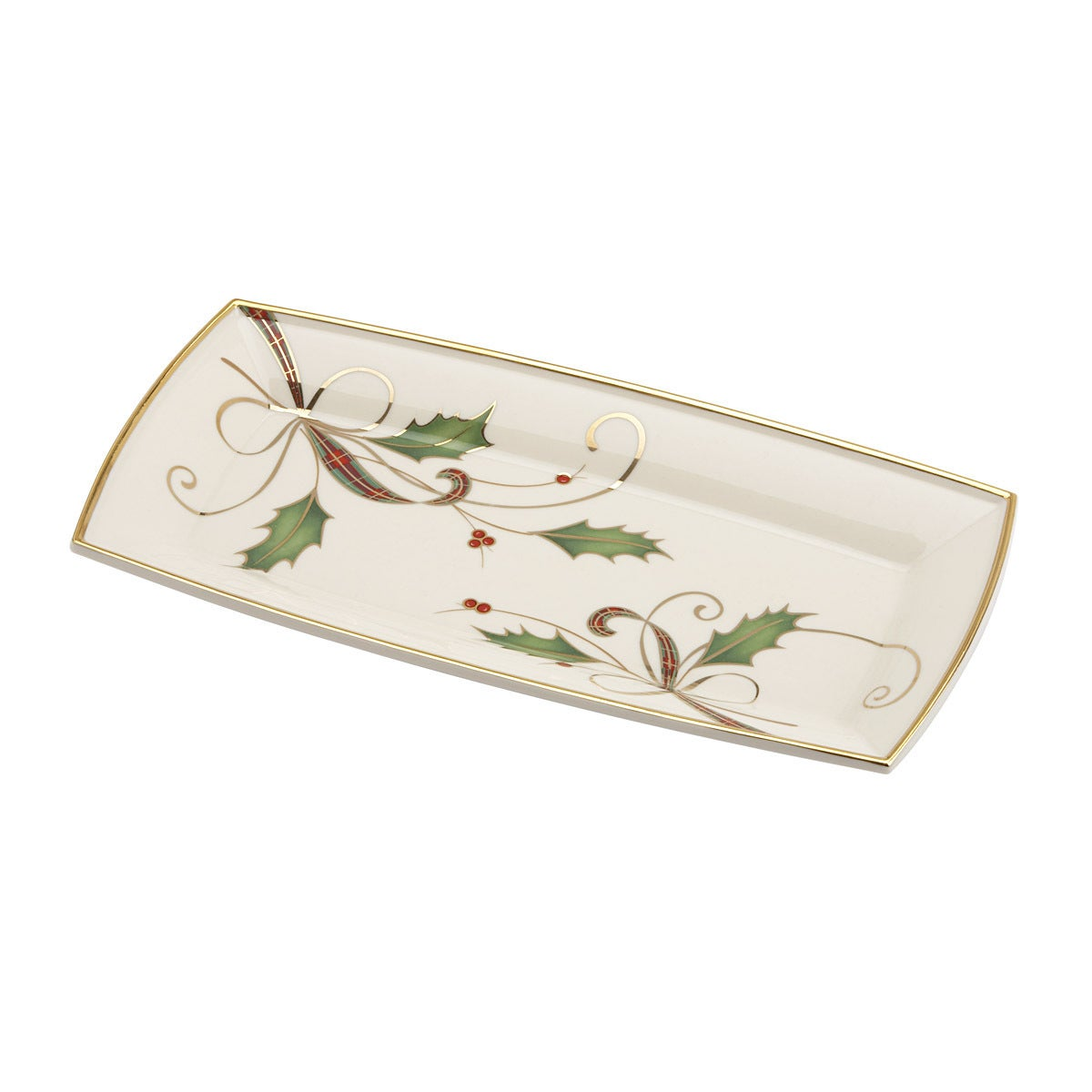 Lenox Holiday Nouveau Fingertip Tray (NO Size Ivory) (Paper)