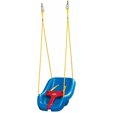 Little Tikes 2-in-1 Snug 'n Secure Blue Swing