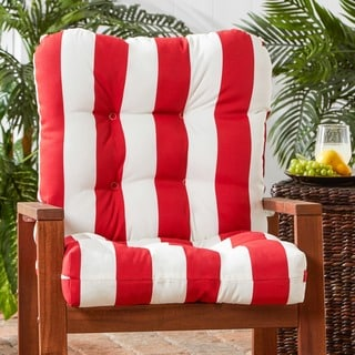 Outdoor Cabana Stripe Chair Cushion