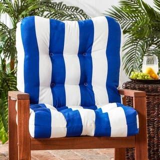 Outdoor Cabana Stripe Chair Cushion|https://ak1.ostkcdn.com/images/products/9726417/P16900142.jpg?impolicy=medium