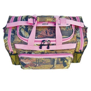 Eplorer 20-inch Mossy Oak Duffel Bag Pink Trim