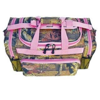 Eplorer 20-inch Mossy Oak Duffel Bag Pink Trim