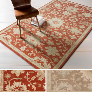 Hand-tufted Nolan Traditional Wool Rug (7'6 x 9'6)