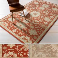 """Hand-tufted Nolan Traditional Wool Area Rug - 7'6"""" x 9'6"""""""
