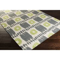 Hand-woven Heidi Reversible Wool Area Rug - 5' x 8'
